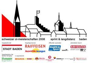 Die Einstiegsseite der Homepage zur SM 2008