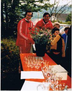 Gregor Biland und Peter Kalt am Badener-OL 1980