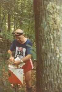 Beda Humbel am Aargauer-3-Tage-OL 1983